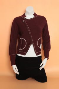 Ladies′ Yak Wool /Cashmere Cardigan Fashion Sweater/Garment/Clothing/Knitwear pictures & photos