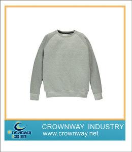 O-Neck Blank Boy Sweatshirt Suit with Raglan Sleeve pictures & photos