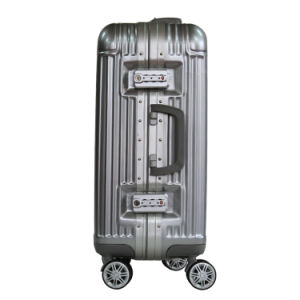 2016 New ABS+PC Luggage Aluminum Frame, Rolling Luggage, Suitcase With22, 26 pictures & photos