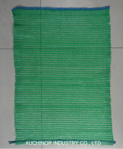 Food Grade PE Raschel Mesh Bag with Handle/Potato, Onion Mesh Bag pictures & photos
