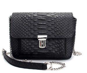 Leisure Ladies Designer Handbag Chain Fashion Genuine Leather Handbag (XZ1041) pictures & photos