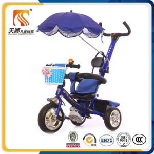 Three Wheel Bike Toys Children Tricycle with Roof pictures & photos