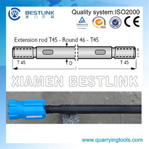 Top Hammer Drill Rod Drill Bar with Thread Drill Bits pictures & photos