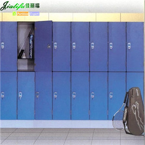 Jialifu Popular Modern Blue Solid Phenolic Panel Lockers pictures & photos