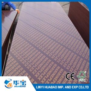 18mm Waterproof Plywood Sheets for Shuttering Combined Core pictures & photos