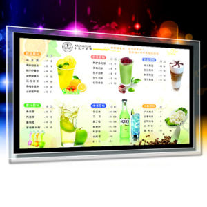 Custom Acrylic Picture Frame LED Light Box pictures & photos