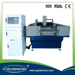 3D CNC Wood Plastic Mold Milling Machine 6060 pictures & photos