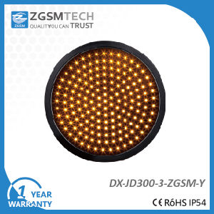 Dia. 300mm Yellow Round Traffic Signal Light pictures & photos