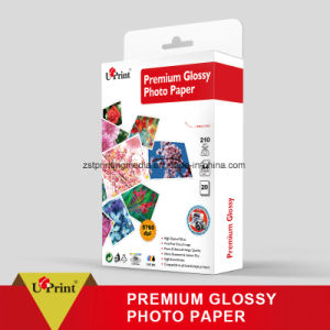Fast Dry Single Side Premium Glossy Photo Paper pictures & photos