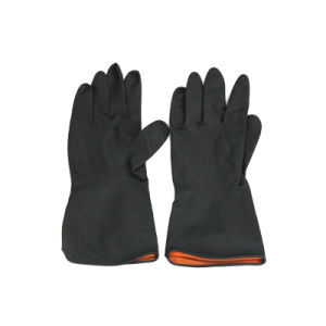 Industrial Working Household Latex Safety Gloves pictures & photos