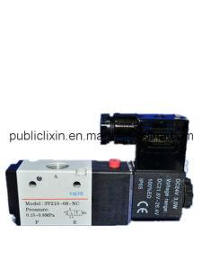 Airtac 3V Pilot-Oriented AC/DC Single Double Solenoid Valve pictures & photos
