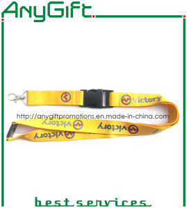 Woven Lanyard with Customized Logo (LAG-LY-28) pictures & photos