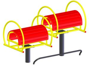 Stretching Back Machine, Outdoor or Indoor Fitness Equipment (HD-12406) pictures & photos