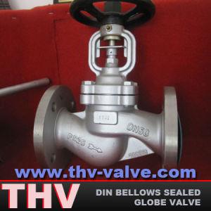 DIN Bellows Sealed Globe Valve