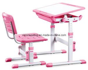 Plastic Children Kids Kindergarten Preschool Study Chair and Table (7701T) pictures & photos