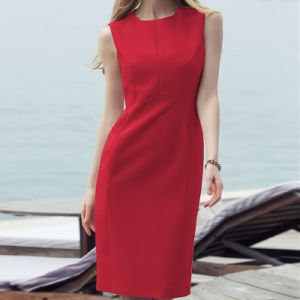 Ladies Office Wear Dresses Dress Formal Office Dresses for Women Chinese Clothing Manufacturers pictures & photos