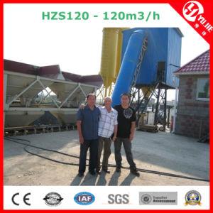 Hzs120 Wet Mix Concrete Batching Plant with Belt Conveyor pictures & photos