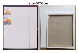 White Artist Canvas with Wooden Frame pictures & photos