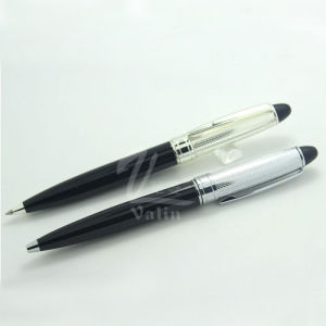Bling Fine Silver Metal Ball Pen for Precious Gift pictures & photos