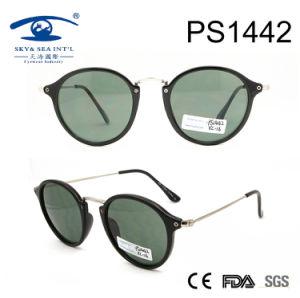 2017 Round Shape PC Slim Temple Lady Sunglasses (PS1442) pictures & photos