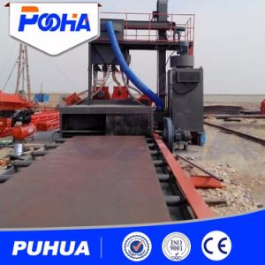 Roller Conveyor Steel Shot Blasting Machine pictures & photos