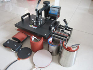 New Udt Advanced Design 8 in 1 Combo Heat Press, Plate/Mug/Cap/Tshirt Heat Press, Heat Transfer Machine, Sublimation Machine