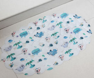 Modern Style PVC Printed Bath Rug pictures & photos