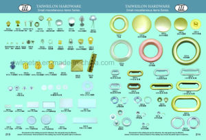 Free Samples Custom Light Gold Metal Rivet pictures & photos
