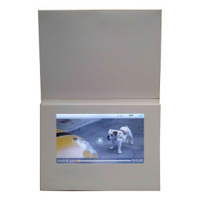 7inch Touch Screen Video Card pictures & photos