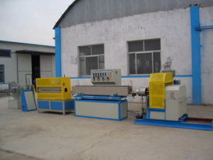 PVC Spiral Steel Wire Reinforced Hose Extrusion Line Plastic Machinery pictures & photos