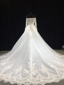 China 2018 Trendy Design Tailor Made Wedding Gown for Bridal