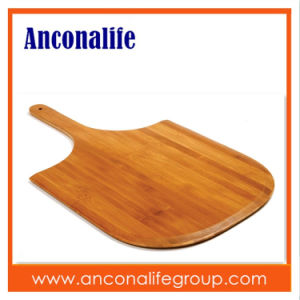 High Quality Bamboo Pizza Cutting Board, Pizza Plate, Pizza Chopping Board with LFGB/FDA Certificate pictures & photos