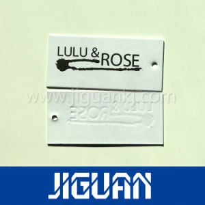 High Quality Hot Selling Custom Design Jeans Plastic Hang Tag pictures & photos