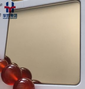 8k Mirror Stainless Steel Decorative Sheets for Elevator pictures & photos