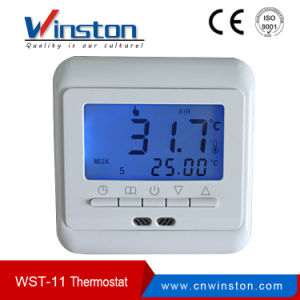 Digital Heating System LCD Display Programmable Room Thermostat Wst-11 pictures & photos