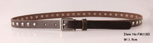 2018 Fashion Genuine Leather Belts for Ladies (FM1183) pictures & photos