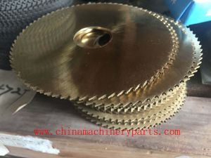 Best Quality M2 HSS Round Saw Blades Factory pictures & photos