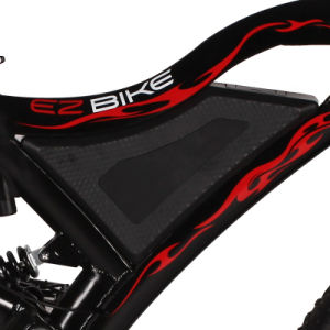 Hot Sell Fat Tire Electric Bicycle Tde18 with Hidden Battery pictures & photos