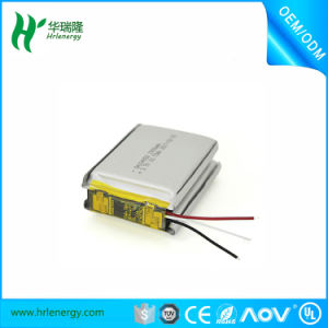 Rechargeable Polymer Battery 144272 7.4V 2000mAh Lithium Battery with Kc Certificate pictures & photos