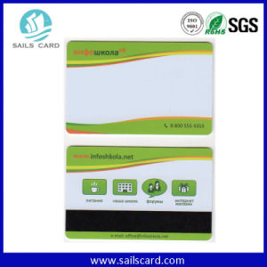 Customized PVC Hi-Co Magnetic Stripe Card for Supermarket Shopping pictures & photos