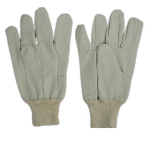 Natural 100% Cotton Work Glove pictures & photos