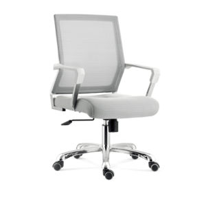 Middle Back Swivel Mesh Office Chair (YF-5617-orange) pictures & photos