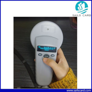 New Arrival 134.2kHz Handheld RFID Animal Microchip Scanner pictures & photos