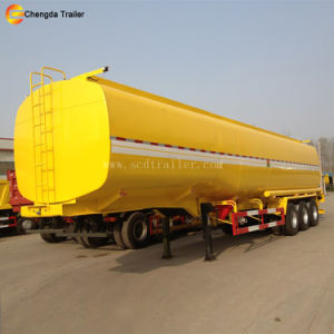 3 Axles 60000L Stainless Fuel Tanker Truck Trailer / Fuel Transport Tanker pictures & photos