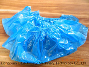 Plastic Shoe Cover PE Disposable Automatic Making Machine pictures & photos