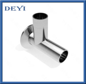 Sanitary Stainless Steel 304/316L Sanitary Clamp Equal Tee (DYTF-015) pictures & photos