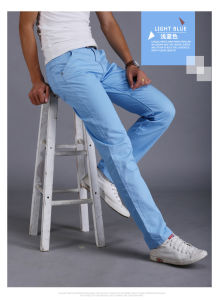 Pants for Men Long Straight Trousers Men Formal Pants Slim Type pictures & photos