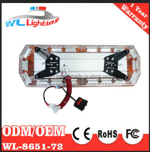 72 LED Emergency Police Car Warning Strobe Lightbar pictures & photos