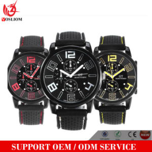 Vs-179 Men′s Military Racing Designer Gt Grand Touring Silicone Band Quartz Wristwatch pictures & photos