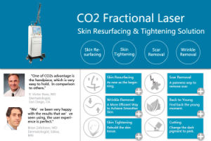 FDA Approved Microfractional CO2 Laser Skin Resurfacing Aginal Tightening CO2 Laser Medical Equipment pictures & photos